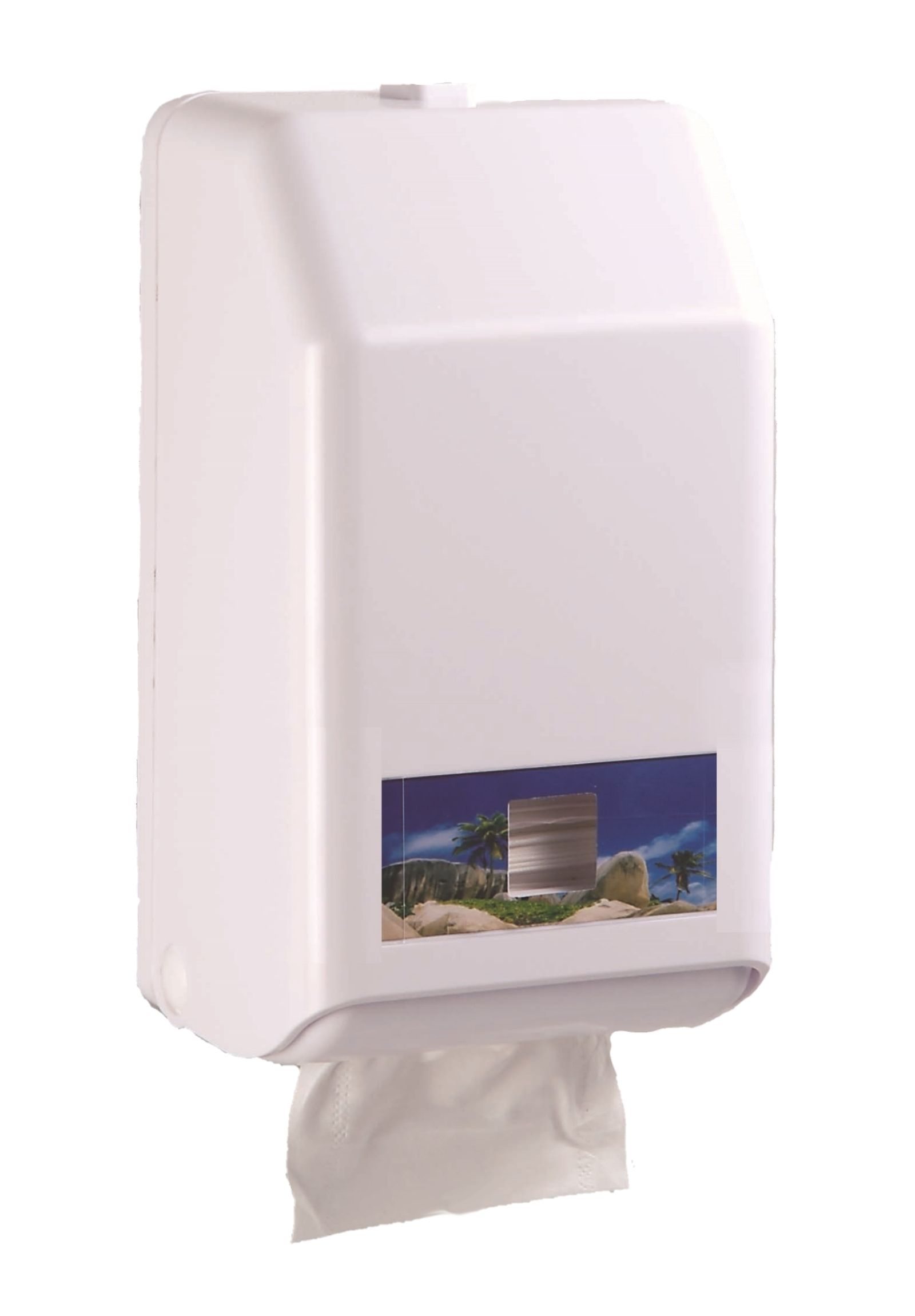 節能擦手紙架-新版Interfold hand towel dispenser